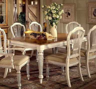 100 Awesome Vintage Dining Table Design Ideas Decorations And Remodel (16)