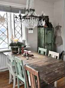 100 Awesome Vintage Dining Table Design Ideas Decorations And Remodel (73)