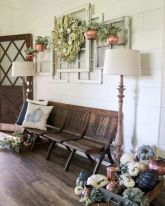 40 Stunning Farmhouse Entryway Decorating Ideas And Remodel (2)