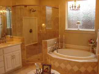 40 Stunning Tiny House Bathroom Shower Design Ideas And Remodel (17)