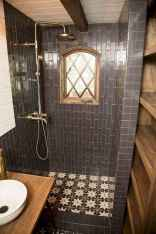 40 Stunning Tiny House Bathroom Shower Design Ideas And Remodel (22)