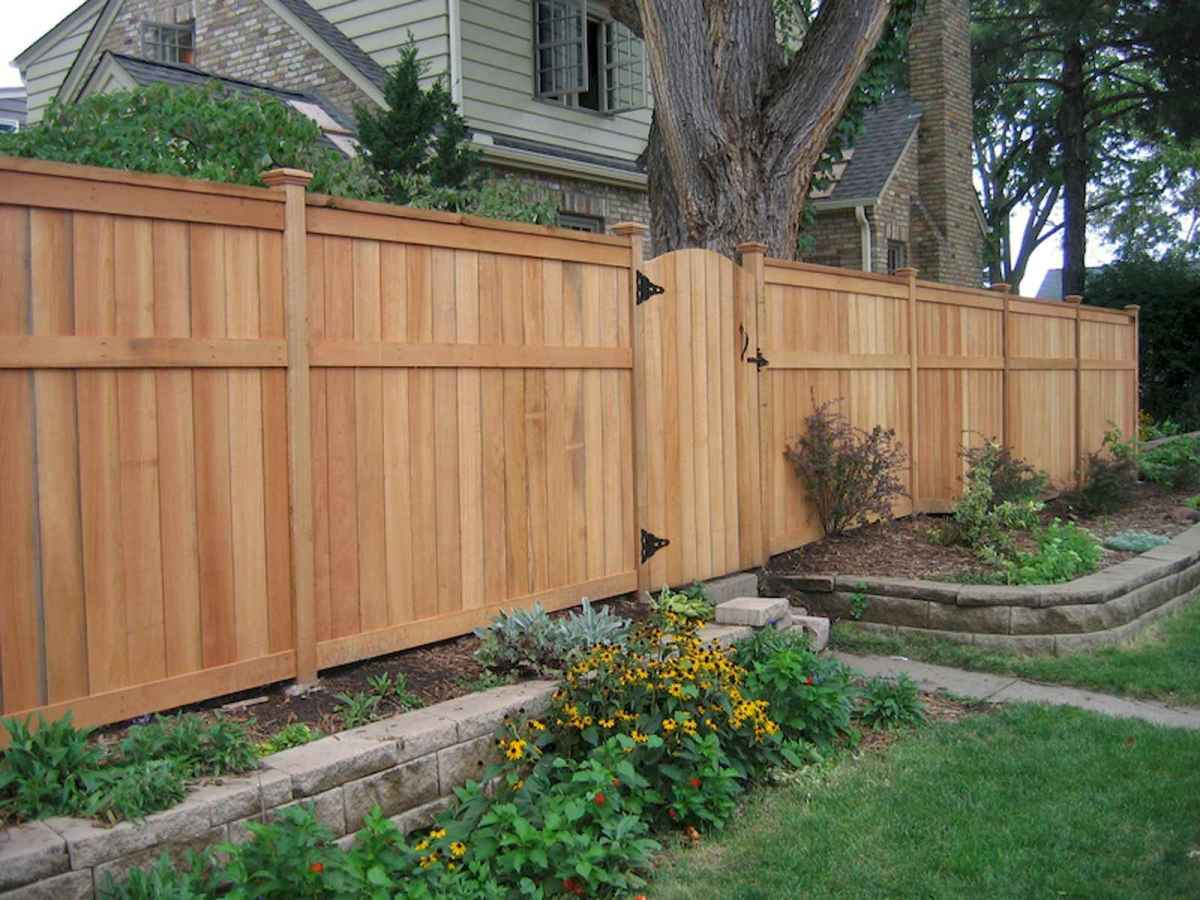 50 Stunning Backyard Privacy Fence Ideas Decorations And Remodel (21)