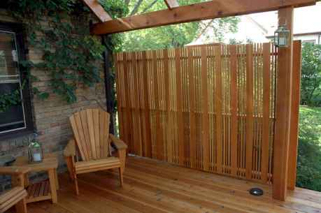 50 Stunning Backyard Privacy Fence Ideas Decorations And Remodel (24)