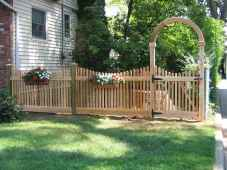 50 Stunning Backyard Privacy Fence Ideas Decorations And Remodel (29)