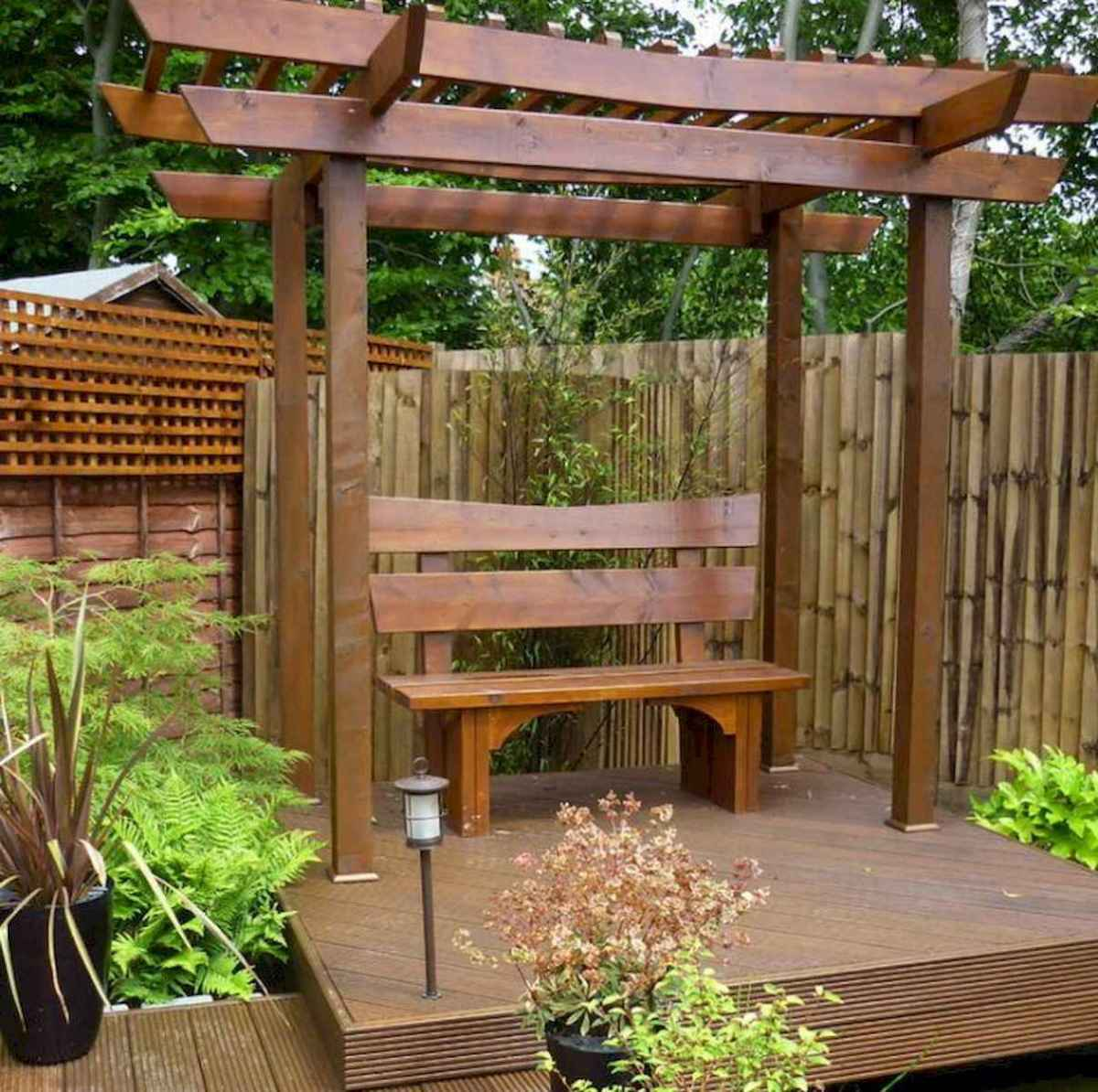 50 Stunning Backyard Privacy Fence Ideas Decorations And Remodel (35)