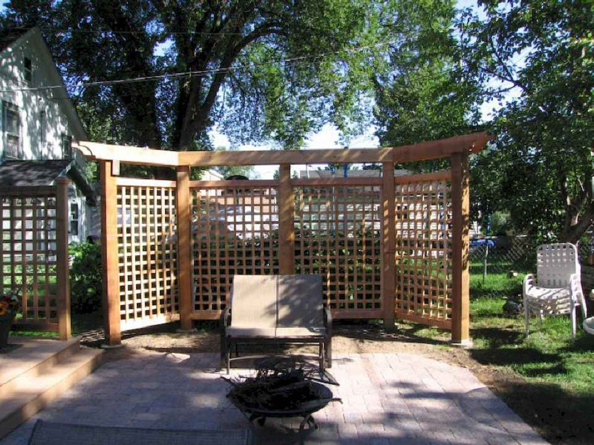 50 Stunning Backyard Privacy Fence Ideas Decorations And Remodel (5)