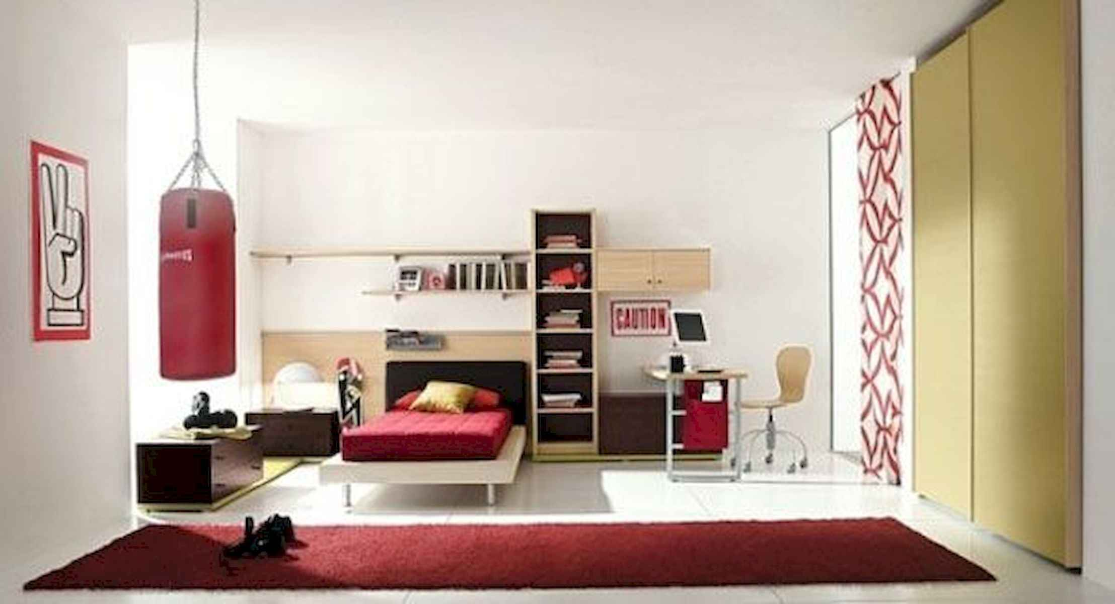 60 Gorgeous College Dorm Room Decorating Ideas And Makeover (12)