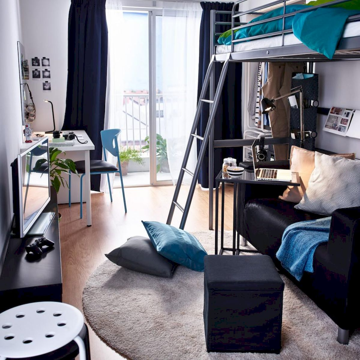 60 Gorgeous College Dorm Room Decorating Ideas And Makeover (2)