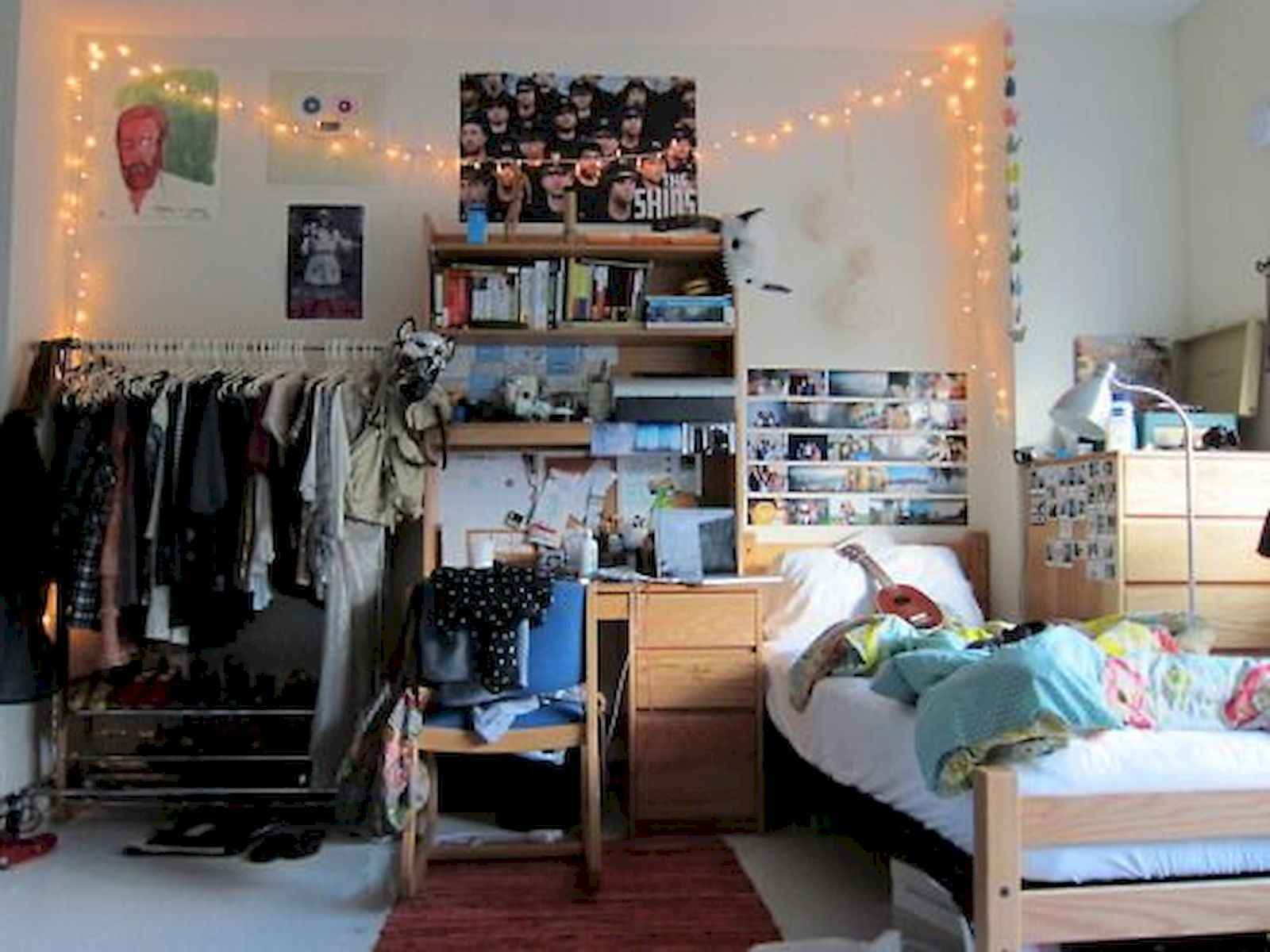 60 Gorgeous College Dorm Room Decorating Ideas And Makeover (7)