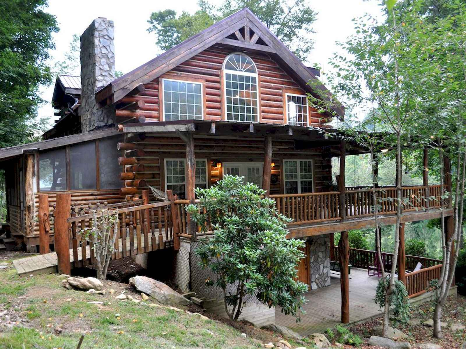 60 Rustic Log Cabin Homes Plans Design Ideas And Remodel (13)