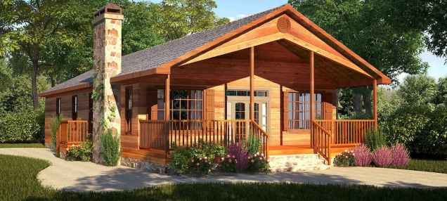 60 Rustic Log Cabin Homes Plans Design Ideas And Remodel (14)