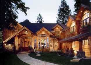 60 Rustic Log Cabin Homes Plans Design Ideas And Remodel (18)