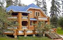 60 Rustic Log Cabin Homes Plans Design Ideas And Remodel (2)