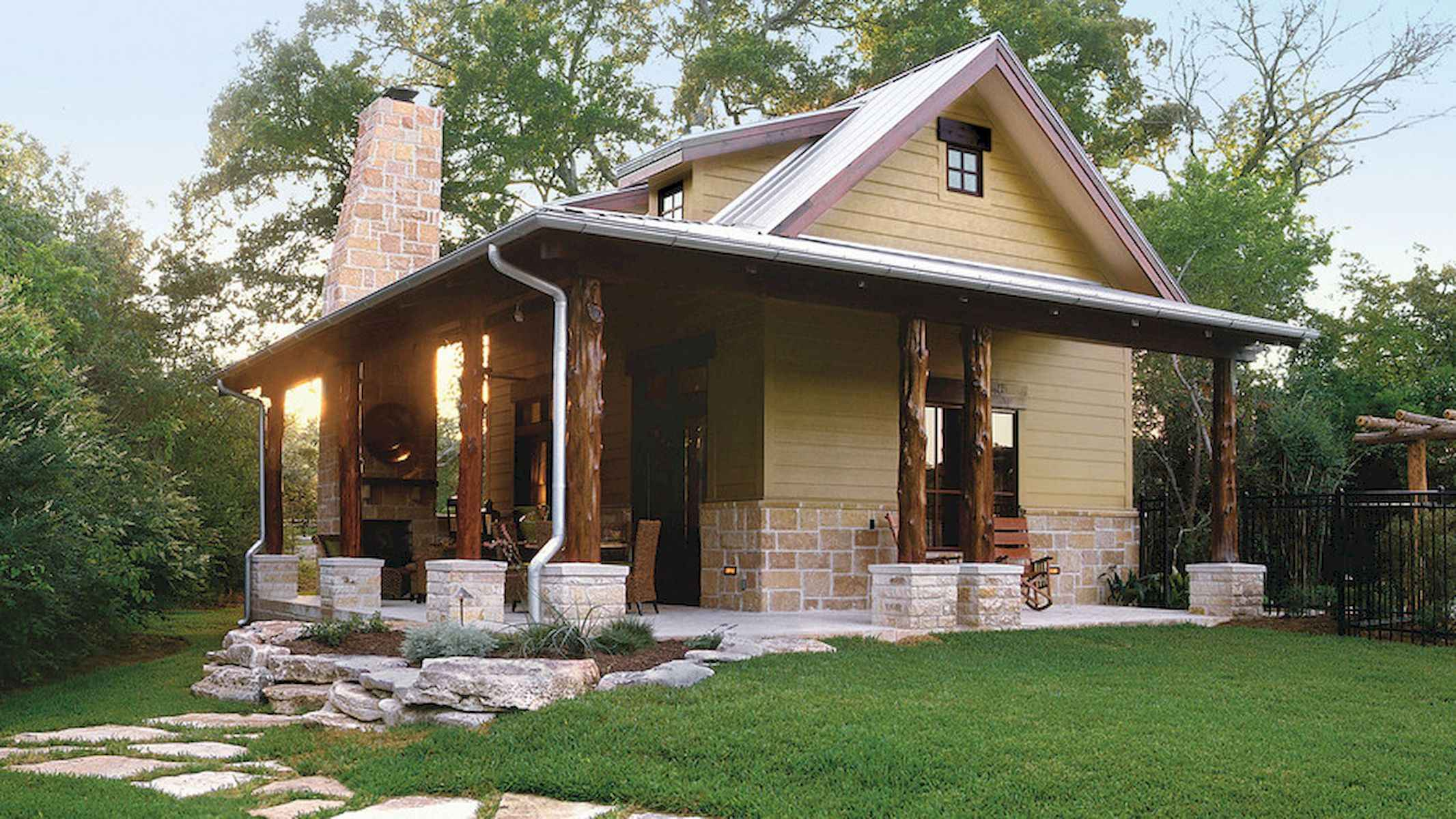 60 Rustic Log Cabin Homes Plans Design Ideas And Remodel (20)