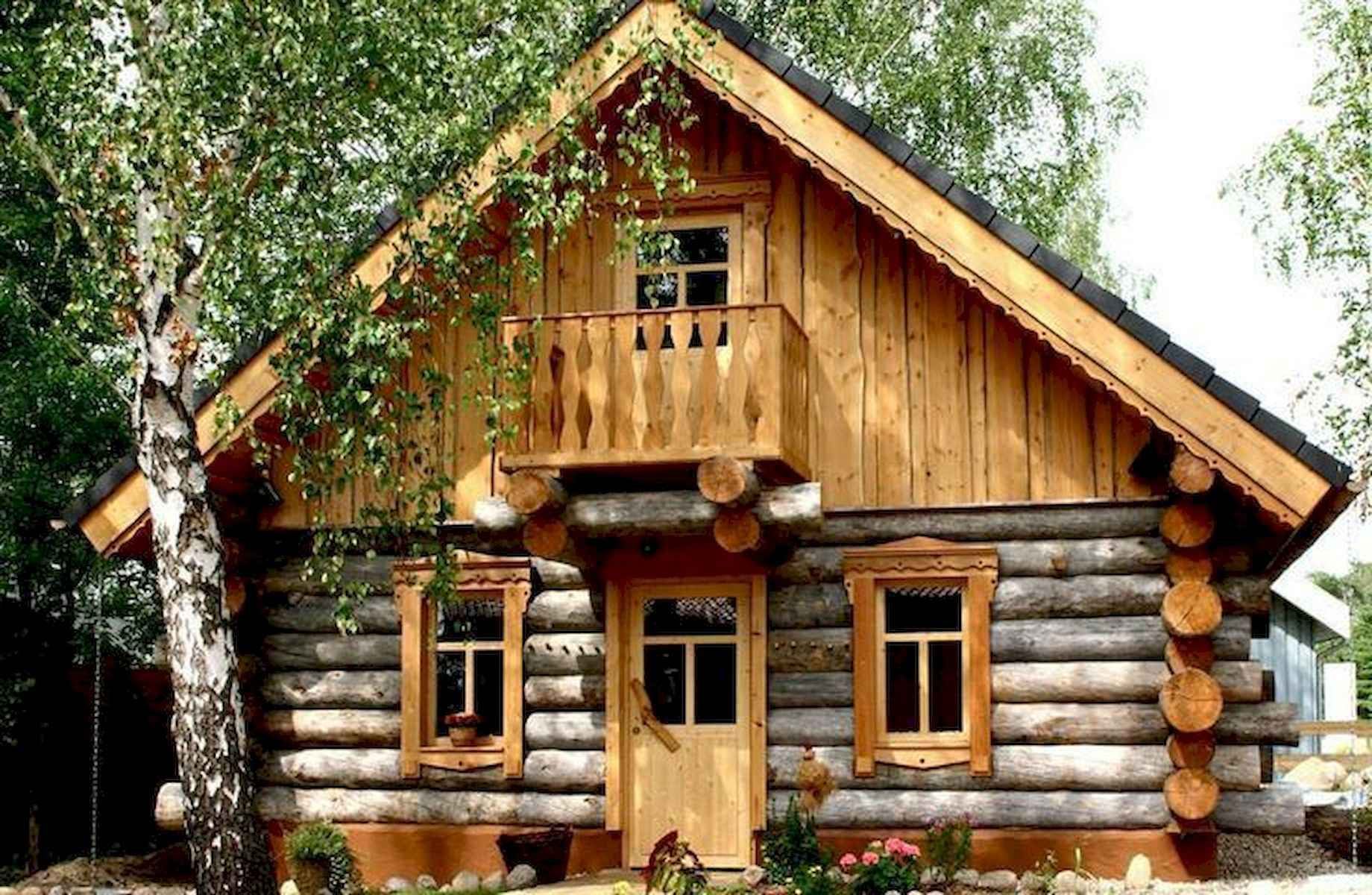 60 Rustic Log Cabin Homes Plans Design Ideas And Remodel (30)