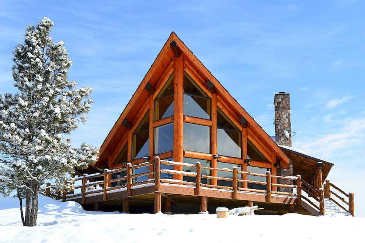 60 Rustic Log Cabin Homes Plans Design Ideas And Remodel (47)