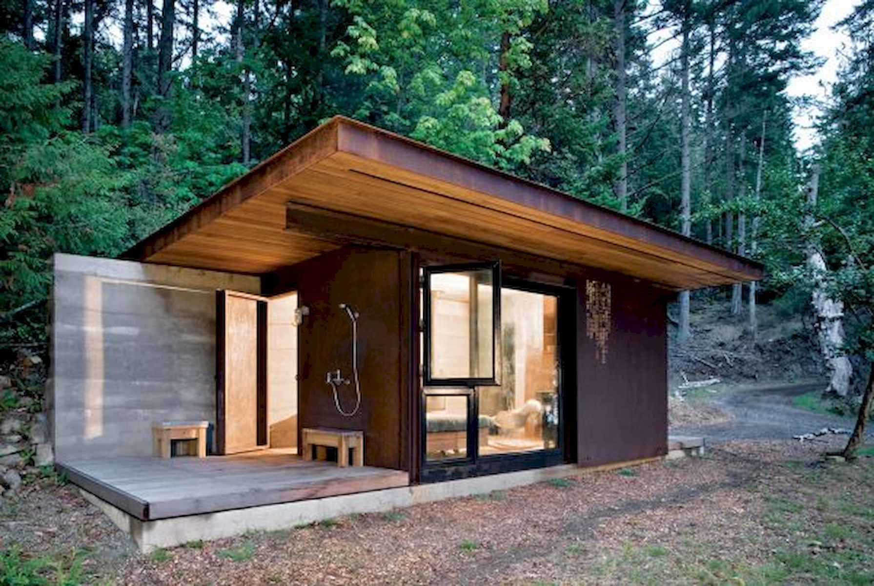 60 Rustic Log Cabin Homes Plans Design Ideas And Remodel (53)