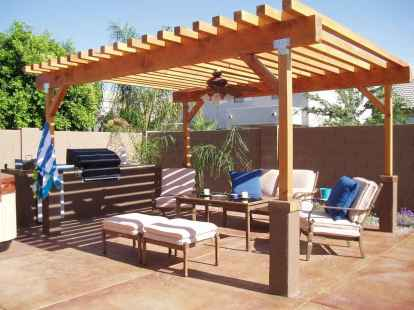 60 Stunning DIY Pergola Design Ideas And Remodel (22)