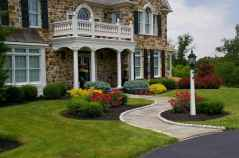 60 Stunning Low Maintenance Front Yard Landscaping Design Ideas And Remodel (22)