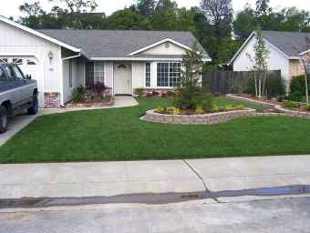 60 Stunning Low Maintenance Front Yard Landscaping Design Ideas And Remodel (35)