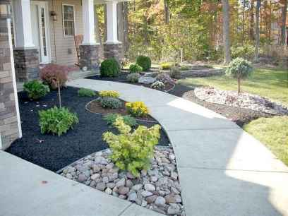 60 Stunning Low Maintenance Front Yard Landscaping Design Ideas And Remodel (36)