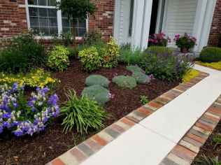 60 Stunning Low Maintenance Front Yard Landscaping Design Ideas And Remodel (39)