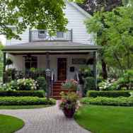 60 Stunning Low Maintenance Front Yard Landscaping Design Ideas And Remodel (47)