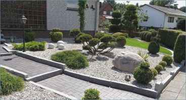60 Stunning Low Maintenance Front Yard Landscaping Design Ideas And Remodel (52)