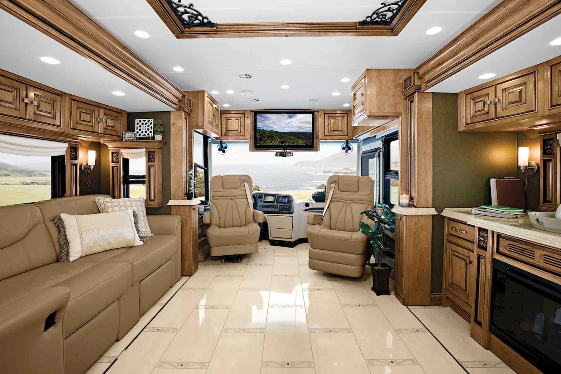 70 Stunning RV Living Camper Room Ideas Decorations Make Your Summer Awesome (16)