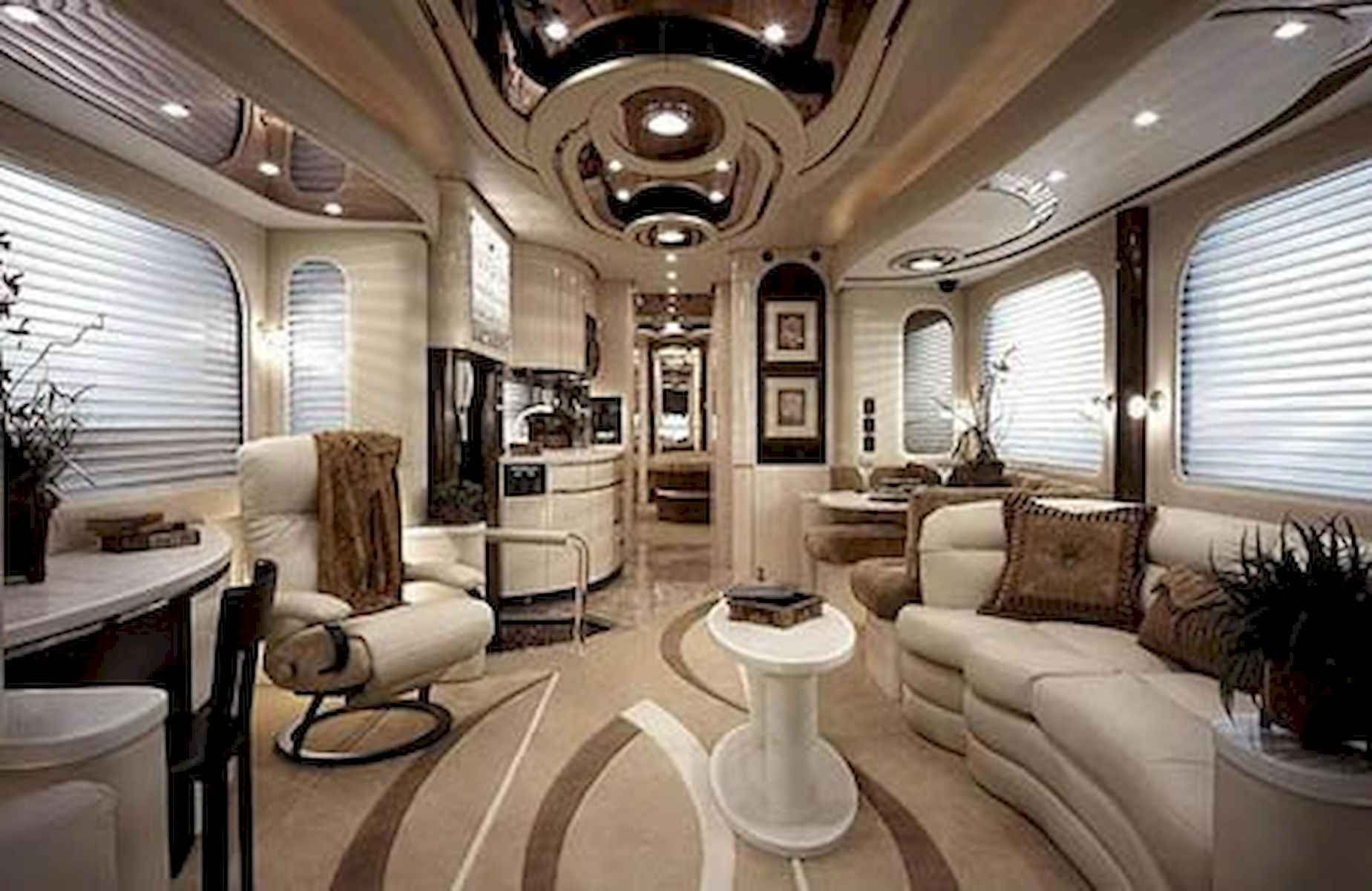 70 Stunning RV Living Camper Room Ideas Decorations Make Your Summer Awesome (21)