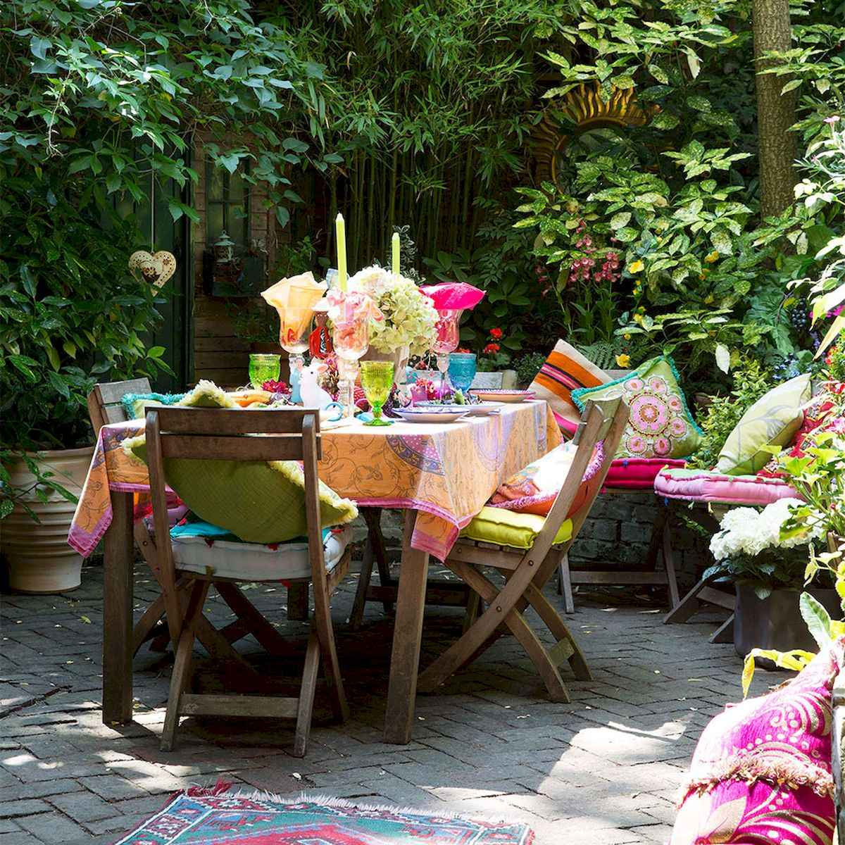 80 DIY Summery Backyard Projects Ideas Make Your Summer Awesome (44)