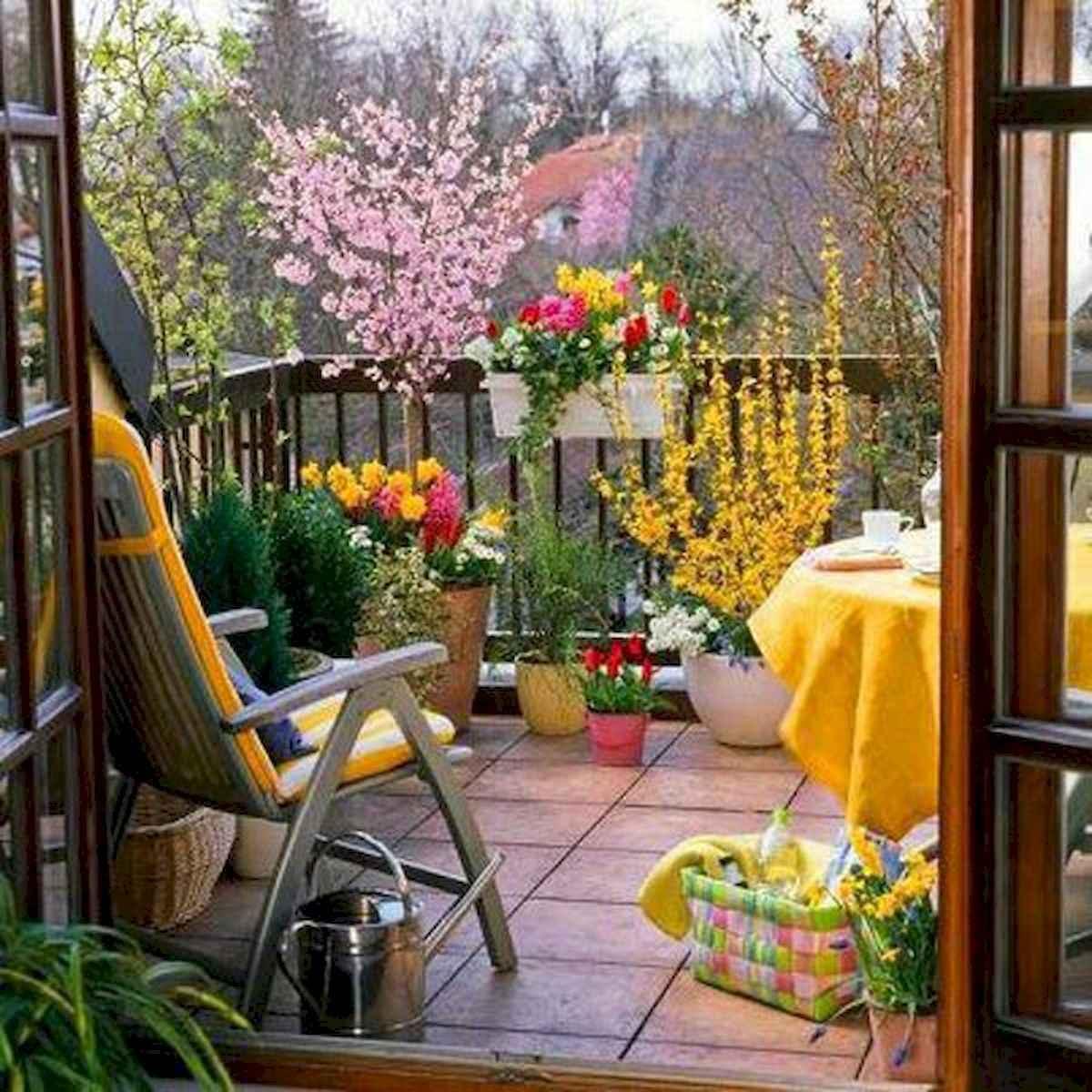 80 Small Apartment Balcony Decor Ideas And Makeover (10)