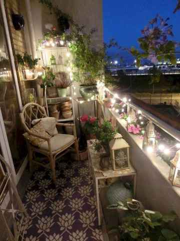 80 Small Apartment Balcony Decor Ideas And Makeover (12)