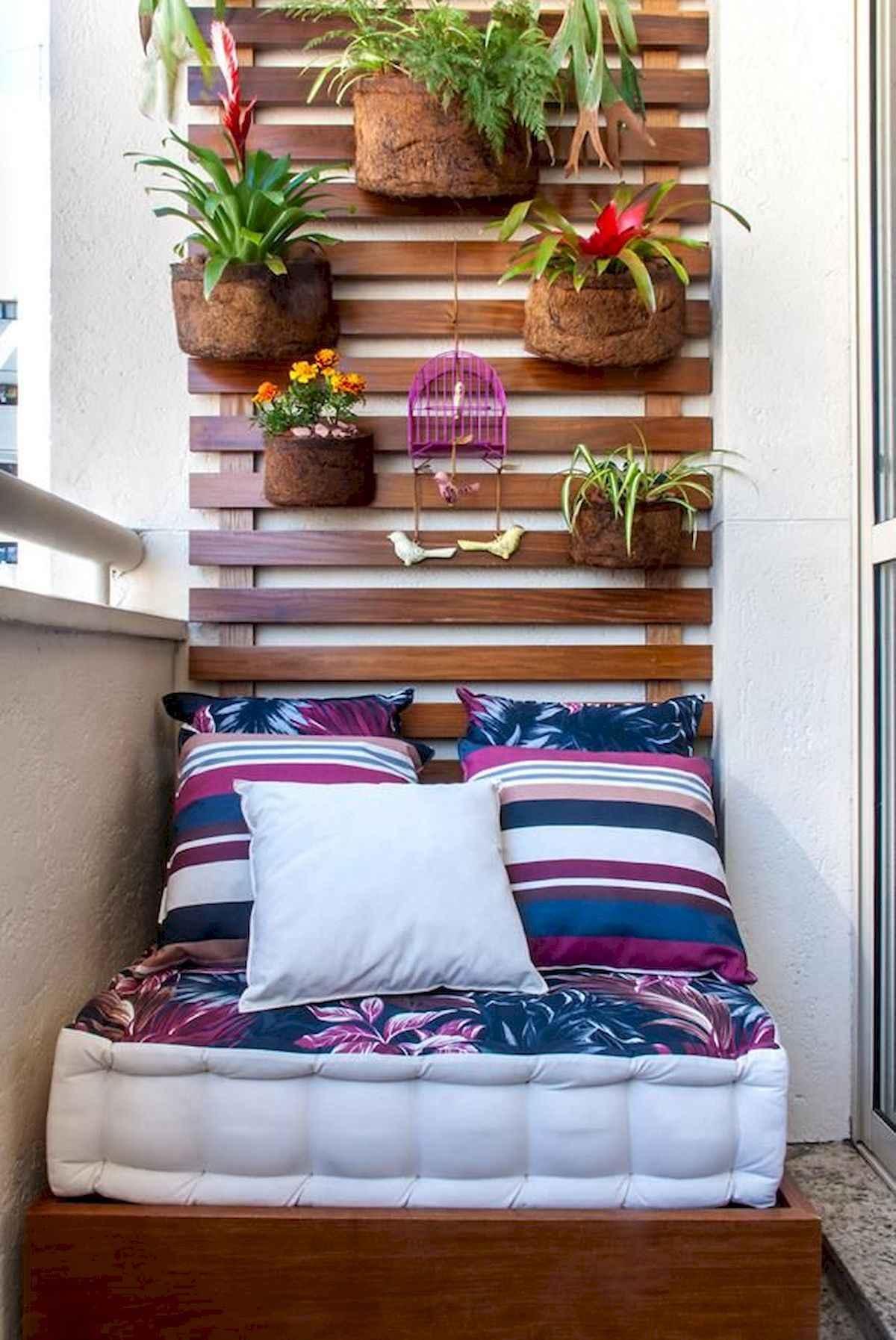 80 Small Apartment Balcony Decor Ideas And Makeover (14)