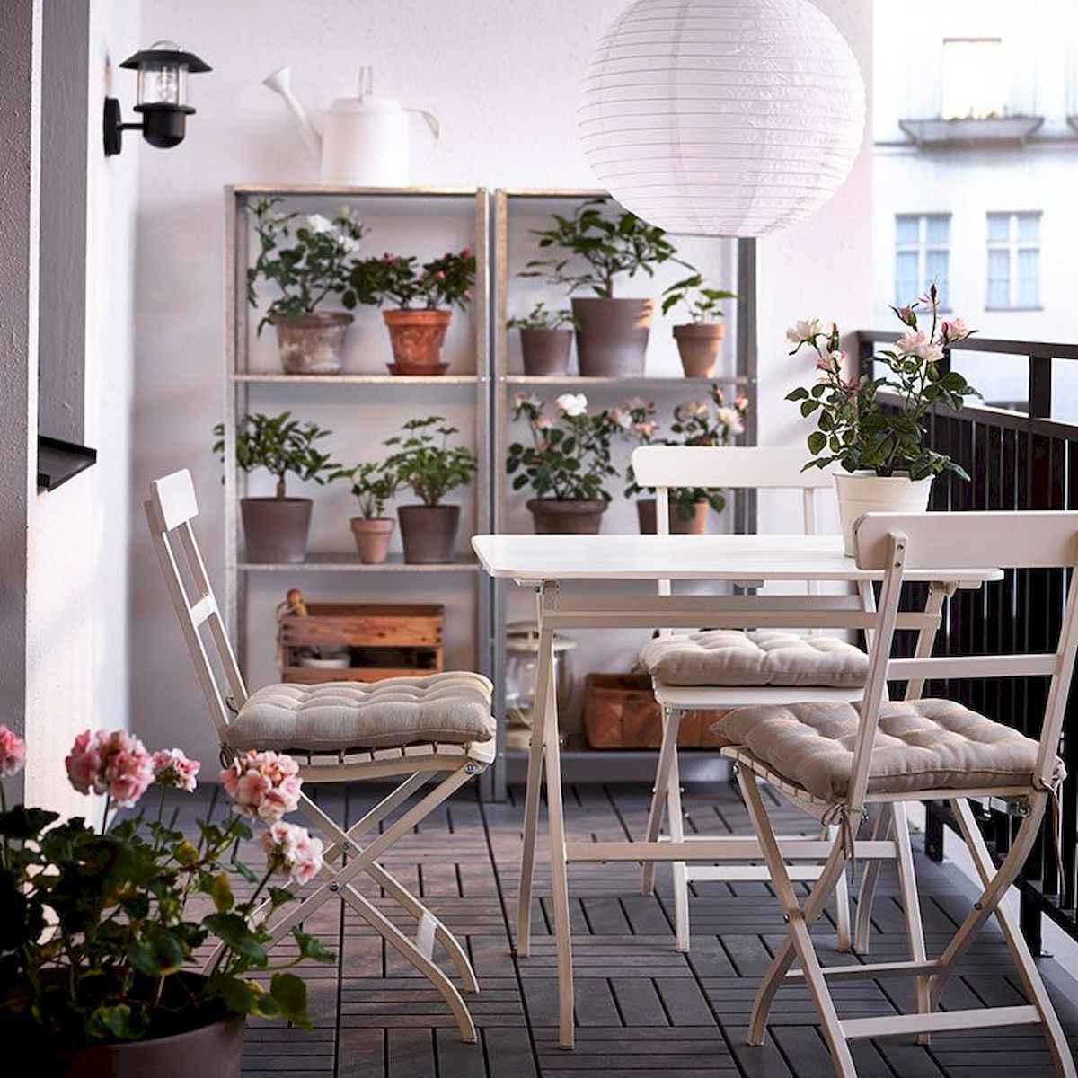 80 Small Apartment Balcony Decor Ideas And Makeover (15)