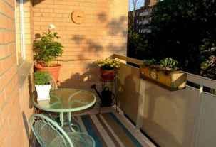80 Small Apartment Balcony Decor Ideas And Makeover (29)