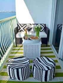 80 Small Apartment Balcony Decor Ideas And Makeover (34)