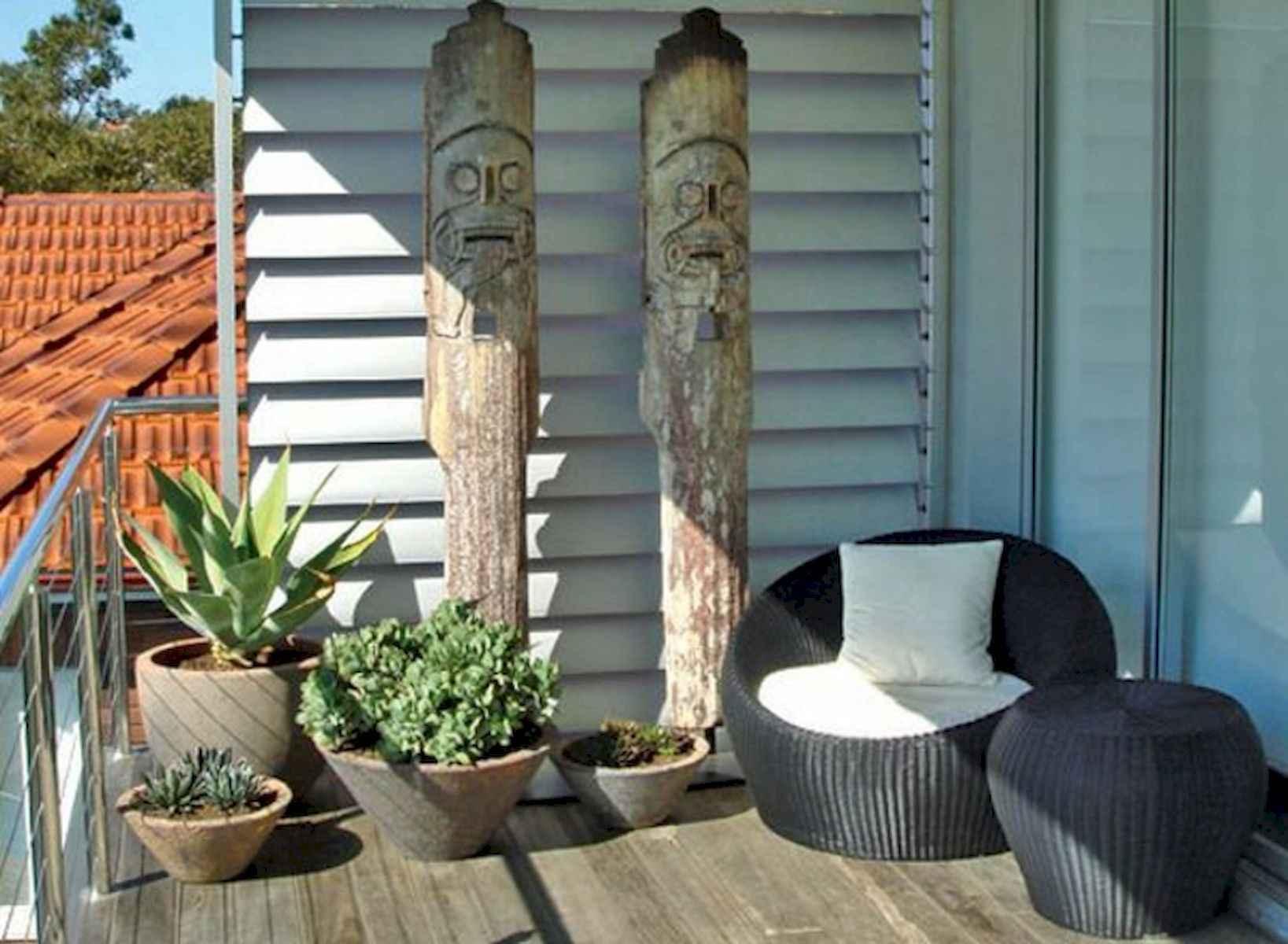 80 Small Apartment Balcony Decor Ideas And Makeover (37)