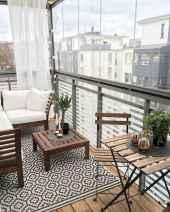 80 Small Apartment Balcony Decor Ideas And Makeover (41)
