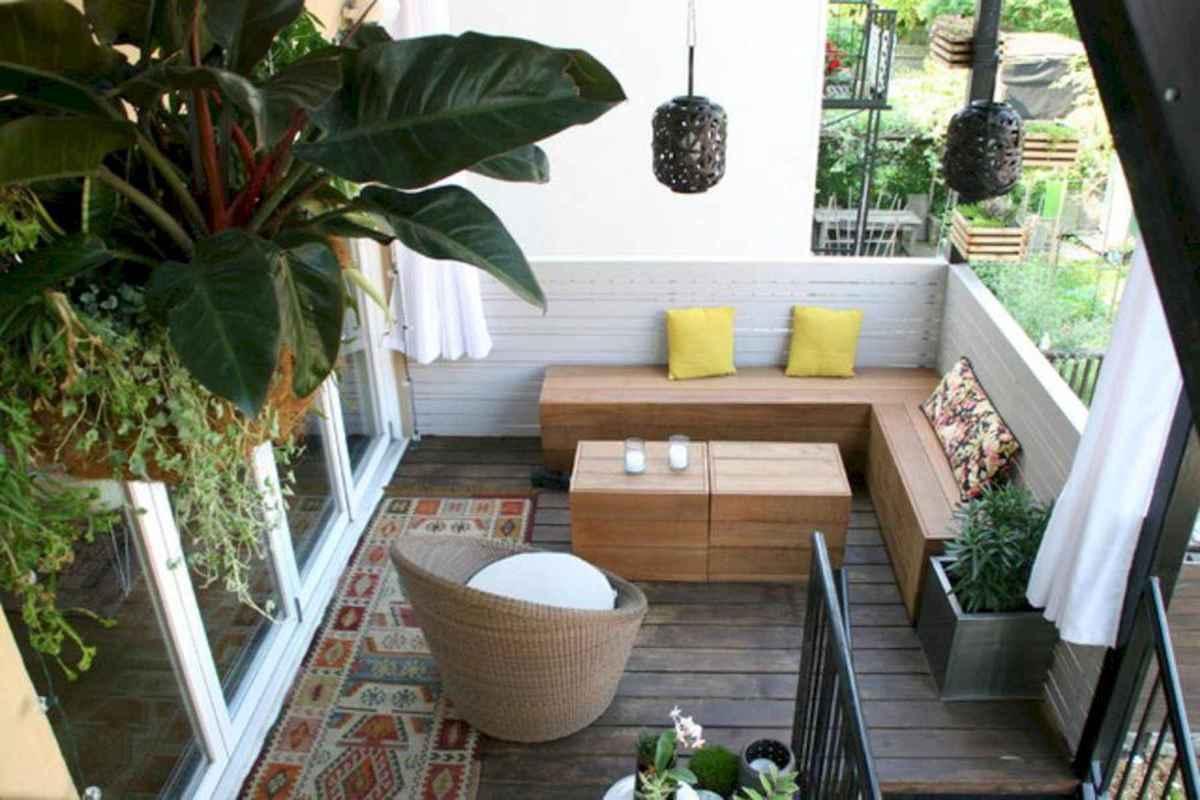 80 Small Apartment Balcony Decor Ideas And Makeover (51)