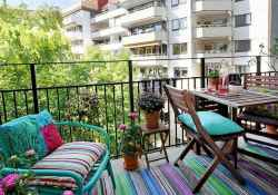 80 Small Apartment Balcony Decor Ideas And Makeover (64)