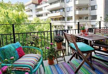 80 Small Apartment Balcony Decor Ideas And Makeover (64)