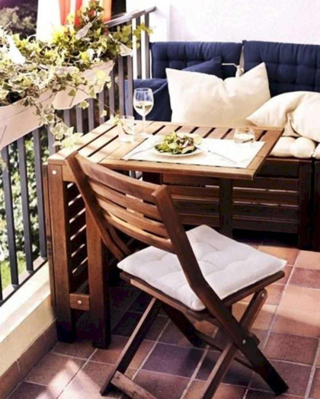 80 Small Apartment Balcony Decor Ideas And Makeover (8)