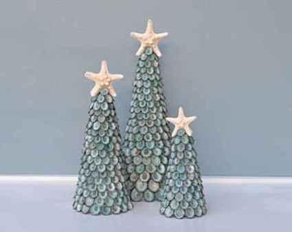40 Creative Coastal Christmas Decor Ideas And Makeover (18)