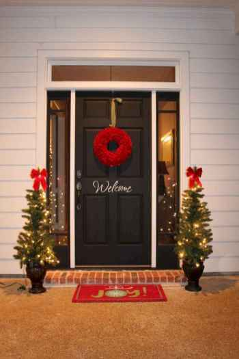 40 Creative and Easy Christmas Decorations for Your Apartment Ideas (16)