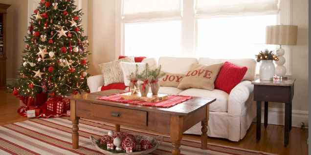 40 Creative and Easy Christmas Decorations for Your Apartment Ideas (25)