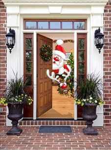 50 Creative Christmas Front Porch Decor Ideas And Design (9)