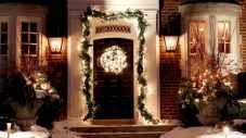 50 Creative Outdoor Christmas Decor Ideas And Makeover (24)