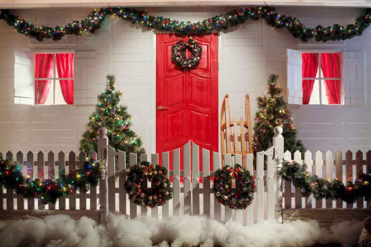 50 Creative Outdoor Christmas Decor Ideas And Makeover 3