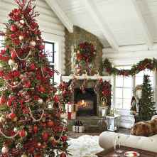 60 Creative Farmhouse Christmas Decorating Ideas And Makeover (24)